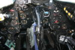 Cockpit Vampire J-1197